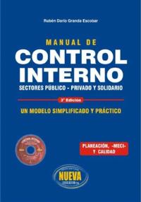 Libro MANUAL DE CONTROL INTERNO: SECTORES PÚBLICO, PRIVADO Y SOLIDARIO