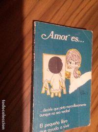 Libro AMAR ES DECIRLE QUE PINTA