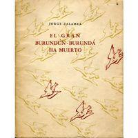 Libro EL GRAN BURUNDÚN-BURUNDÁ HA MUERTO