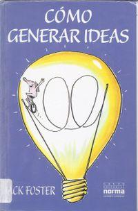 Libro CÓMO GENERAR IDEAS