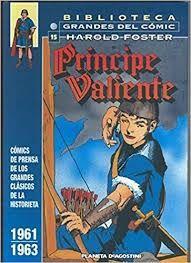 Libro PRÍNCIPE VALIENTE: 1961-1963