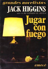 Libro JUGAR CON FUEGO