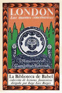 Libro LAS MUERTES CONCÉNTRICAS