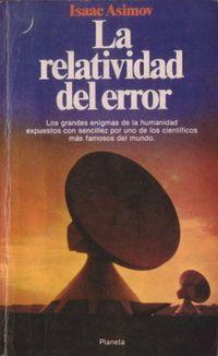 Libro LA RELATIVIDAD DEL ERROR