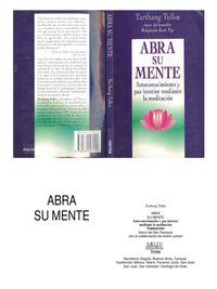 Libro ABRA SU MENTE: AUTOCONOCIMIENTO Y PAZ INTERIOR MEDIANTE LA MEDITACIÓN