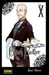 Libro BLACK BUTLER #10