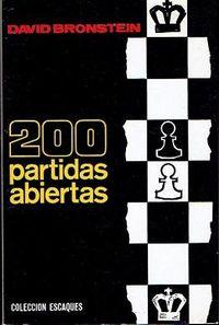 Libro 200 PARTIDAS ABIERTAS