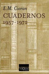 Libro CUADERNOS. 1957-1972