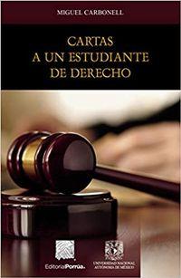 Libro CARTAS A UN ESTUDIANTE DE DERECHO