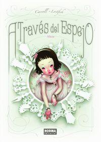Libro A TRAVÉS DEL ESPEJO