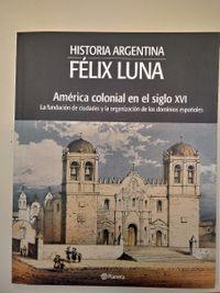 Libro AMÉRICA COLONIAL EN EL SIGLO XVI