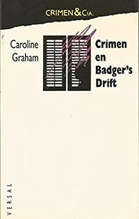 Libro CRIMEN EN BADGER'S DRIFT
