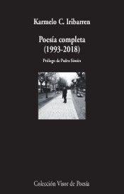 Libro POESÍA COMPLETA (1993-2018)