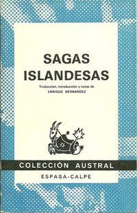 Libro SAGAS ISLANDESAS