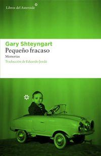 Libro PEQUEÑO FRACASO
