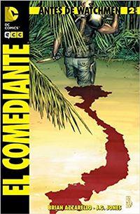 Libro ANTES DE WATCHMEN: EL COMEDIANTE NÚM. 02