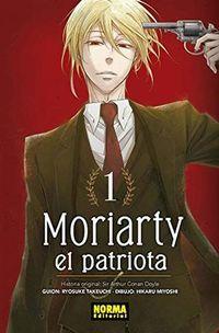 Libro MORIARTY EL PATRIOTA