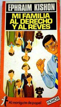 Libro MI FAMILIA AL DERECHO Y AL REVÉS