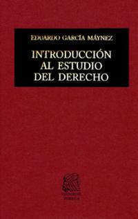 Libro INTRODUCCIÓN AL ESTUDIO DEL DERECHO